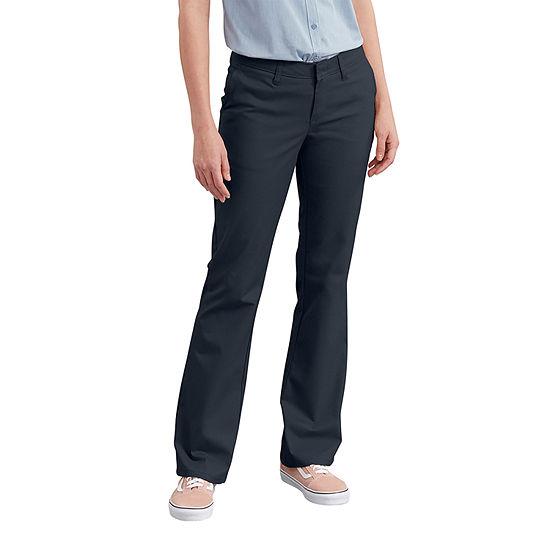 Dickies® Women's Slim Fit Boot Cut Stretch Twill Pants - Petite
