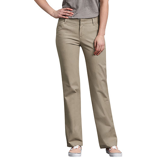 Dickies® Women's Relaxed Straight Stretch Twill Pants - Petite