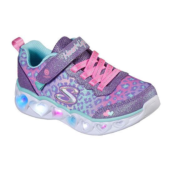 Skechers Heart Lights Shimmer Spots Little Kid/Big Kid Girls Sneakers
