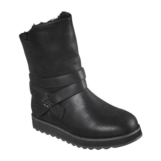 Skechers Womens Flat Heel Keepsakes 2.0 Pikes Peak Winter Boots