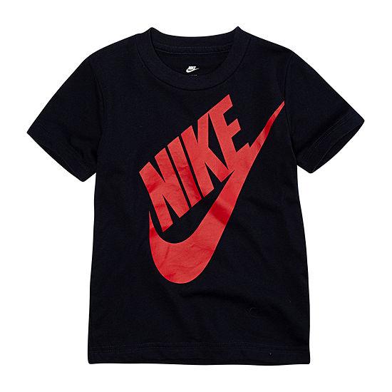 Nike Toddler Boys Crew Neck Short Sleeve Graphic T-Shirt