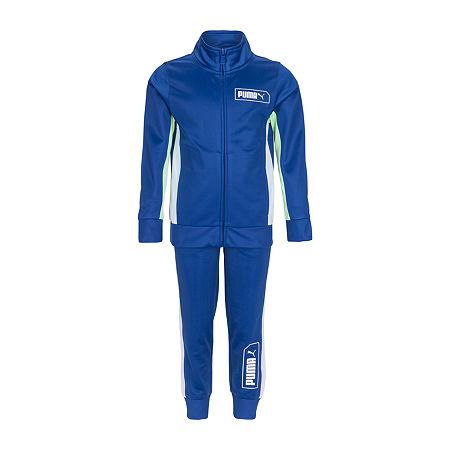 Puma Toddler Boys 2-pc. Tonal Track Suit, 3t , Blue