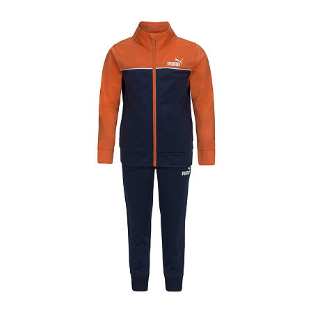 Puma Toddler Boys 2-pc. Tonal Track Suit, 4t , Orange