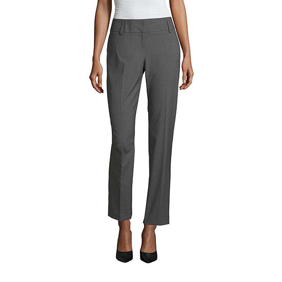 Worthington Womens Straight Leg Pant - Tall