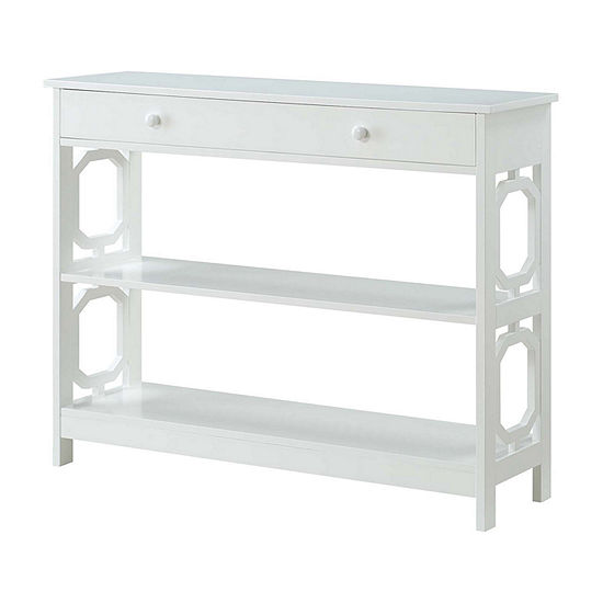 Convenience Concepts Omega 1-Drawer Console Table