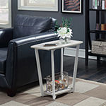 Convenience Concepts Graystone Accent Furniture Storage End Table