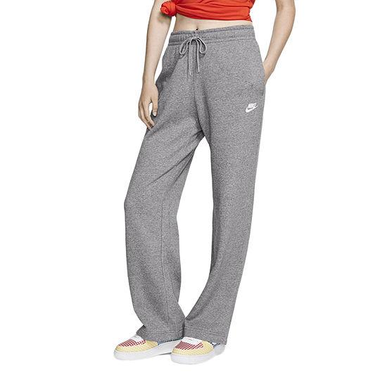Nike Womens Mid Rise Flare Sweatpant