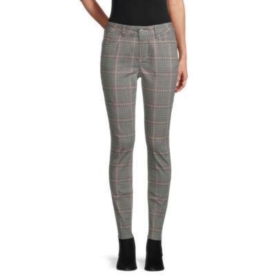 St. John's Bay Womens Mid Rise Skinny Fit Jean