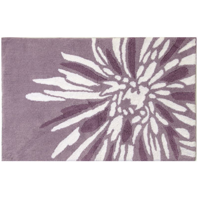 Bacova Flower Power Bath Rug
