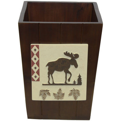 Bacova North Ridge Wastebasket
