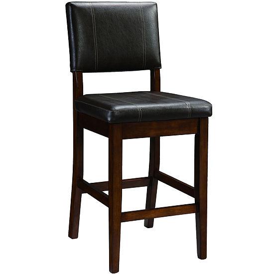 Pleasant Triena Milano Counter Height Upholstered Barstool With Back Frankydiablos Diy Chair Ideas Frankydiabloscom