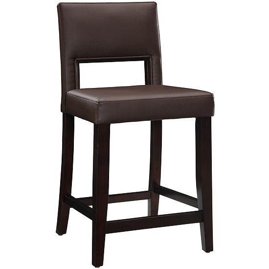 Vega Counter-Height Upholstered Barstool