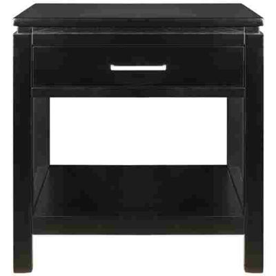 "Sutton Single-Drawer 20"" Square End Table"