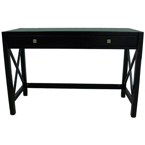 Anna Collection Desk in Antique Black