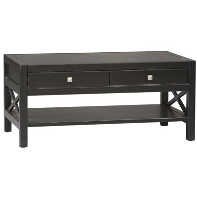 Anna 2-Drawer Rectangular Coffee Table