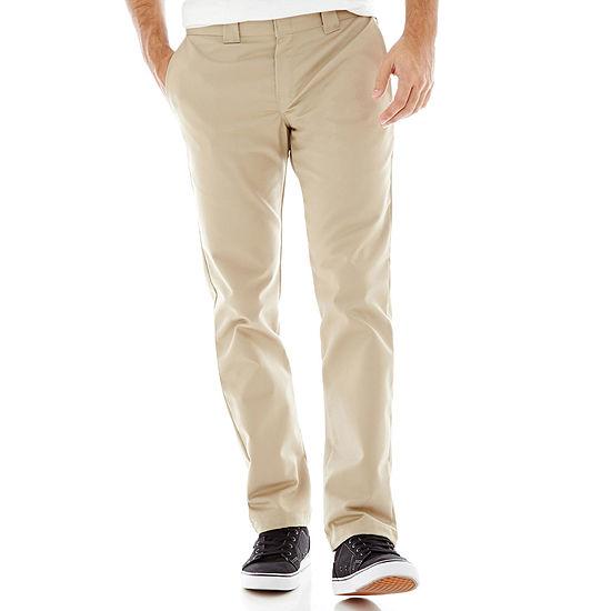 Dickies® Slim Fit Tapered Leg Ring Spun Work Pants