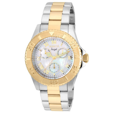 Invicta Womens Two Tone Bracelet Watch-17526