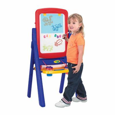 Crayola Grow 'N Up Qwikflip 2-Sided Kids Easel