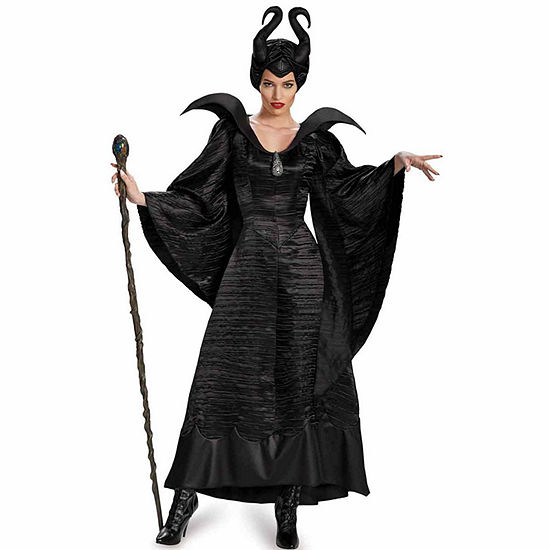 Maleficent Deluxe Black Gown Adult Costume