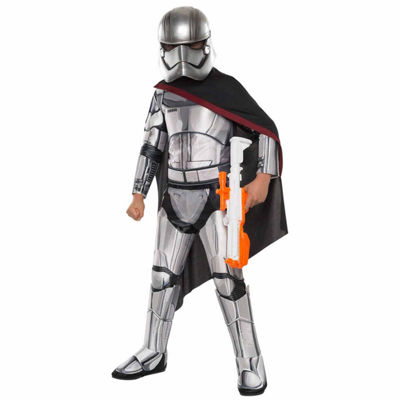 Star Wars:  The Force Awakens - Kids Captain Phasma Super Deluxe Costume