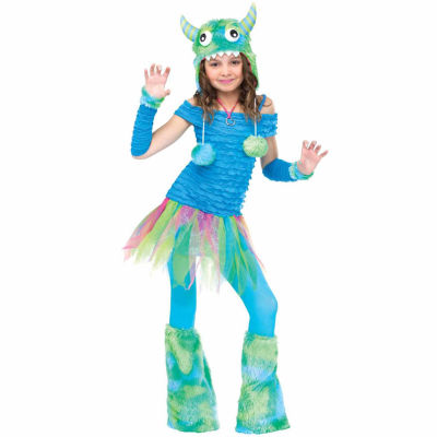 Buyseasons Blue Beasty Child Costume