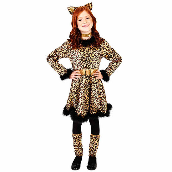 Leopard Dress Child Costume Girls Costume