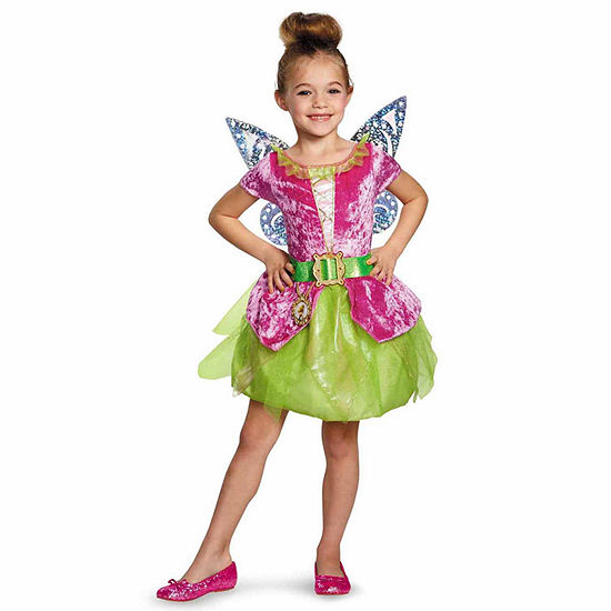 Tinker Bell and The Pirate Fairy - Pirate Tink Kids Costume - 3T-4T