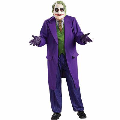 Batman Dark Knight The Joker Deluxe Adult Costume- Standard One-Size