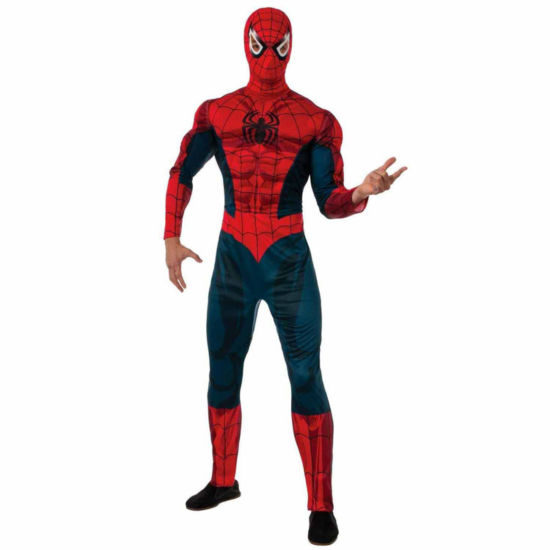 Deluxe Adult Spider-Man Costume - X-Large