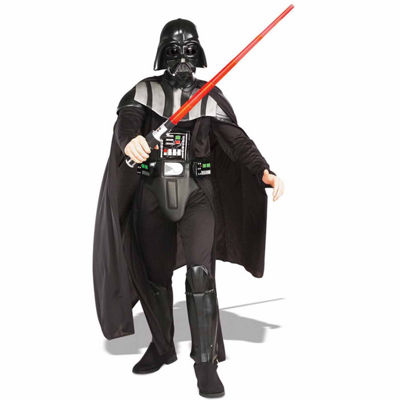 Star Wars - Darth Vader Deluxe Adult Costume - One-Size Fits most