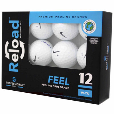 12 Pack of Nike Recycled Golf Balls.