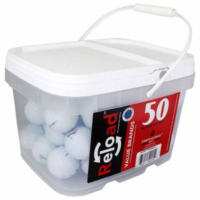 Reload 50 Ball Bucket of Noodle Mix Model Recycled Golf Balls