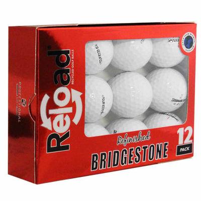 Reload 12 Pack Bridgestone B330-S Refinished Golf Balls.