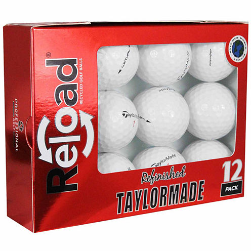 Reload 12 Pack Taylormade Lethal Refinished Golf Balls.