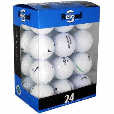 Reload 24 Pack of Nike Recycled Golf Balls.