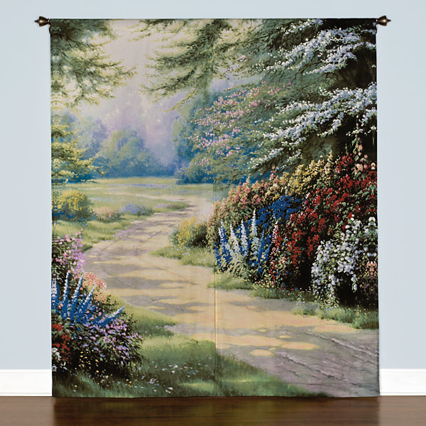 Saturday Knight Endless Summer Rod-Pocket Curtain Panel