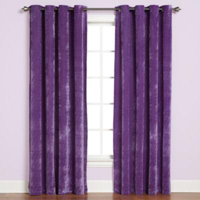 Saturday Knight Plush Grommet-Top Curtain Panel