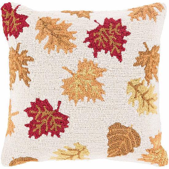 Decor 140 Falling Leaves Rectangular Throw Pillow