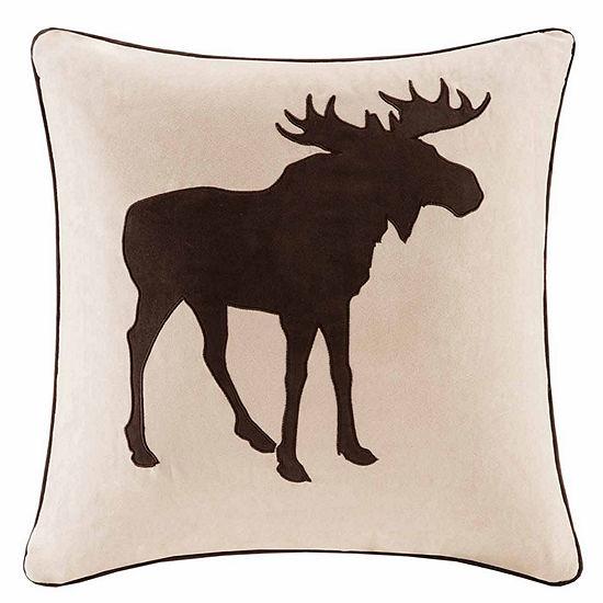 Madison Park Moose Square Throw Pillow