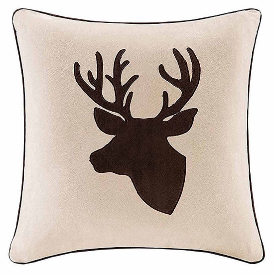 Madison Park Deer Square Throw Pillow