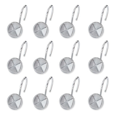 Elegant Forget Me Not Shower Curtain Hooks