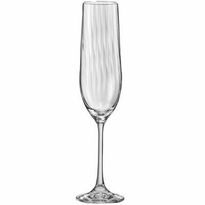 Red Vanilla 6-pc. Champagne Flutes