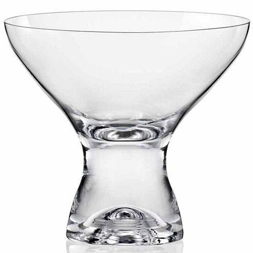 Red Vanilla 6-pc. Martini Glass