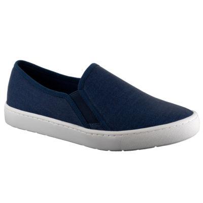 Easy Street Plaza Womens Slip-On Shoes