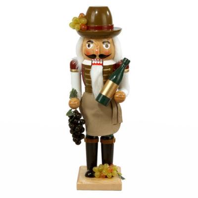 """Kurt Adler 15"""" Wine Farmer Nutcracker"""