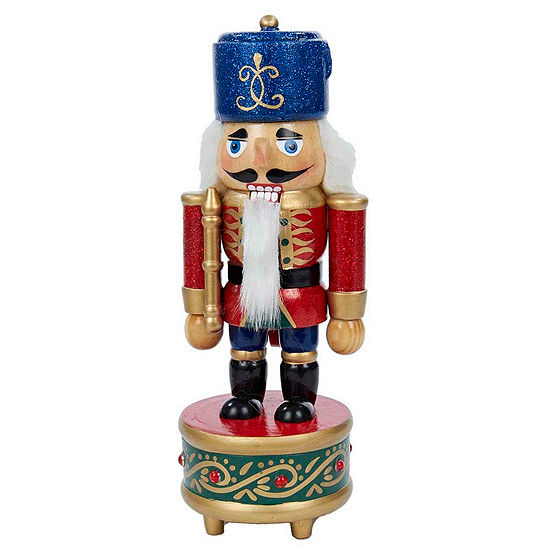"Kurt Adler 8.5"" Musical Soldier Nutcracker"