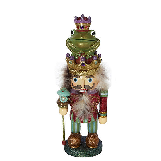 "Kurt Adler 15"" Hollywood™ Frog Prince Nutcracker"