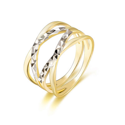 Footnotes Footnotes Womens 10mm Sterling Silver Band