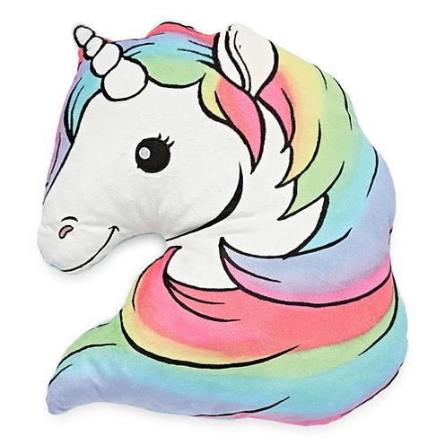 Total Girl Unicorn Pillow