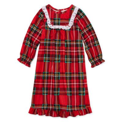 Long Sleeve Nightgown-Toddler Girls